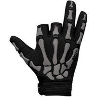 Paintball Gloves Exalt Death Grip Gloves grey